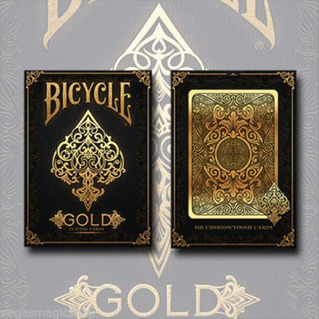 Gold Elite Deck Bicycle Playing Cards Poker Size USPCC  limitált kiadás